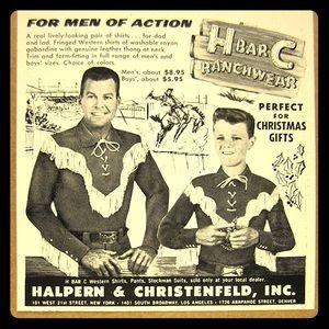 💥Vintage Men's Long/Tall H bar C Western Shirt 💥